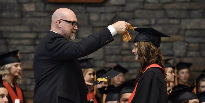 Cérémonie de remise de diplôme